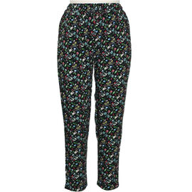 Pure and Natural Elasticated Printed Multi Colour Trousers Length - 25 (Size 20)