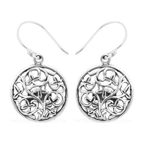 Royal Bali Drop Earrings in Sterling Silver