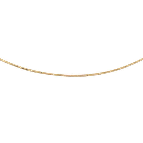 Made in Italy - Sterling Silver Chain (Size 24)