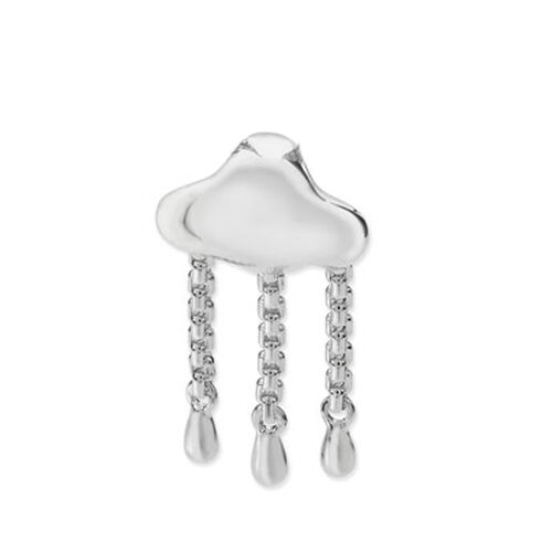 LucyQ Rain Cloud Pendant in Sterling Silver