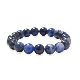 Sodalite Beads Stretchable Bracelet (Size 6.5) 131.50 Ct.