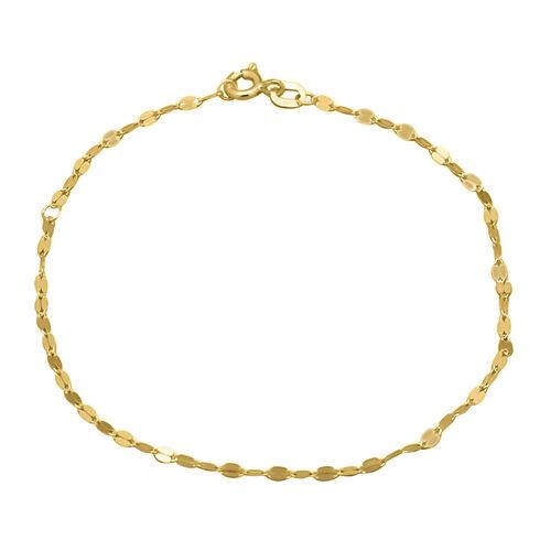 9K Yellow Gold Forzatina Bracelet (Size 7.5)