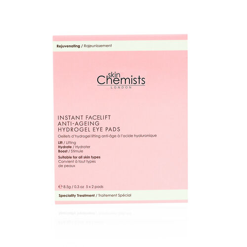 skinChemists: Lifting Hyaluronic Anti-ageing Hydrogel Eye Pads - Set of 5