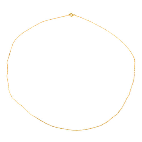 9K Yellow Gold Chain (Size 18)