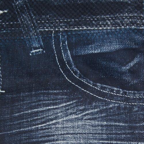 Dark Blue FIGURE FLAWLESS - JEANEEZ HIGH WAIST LEGGINGS (SIZE M/L)