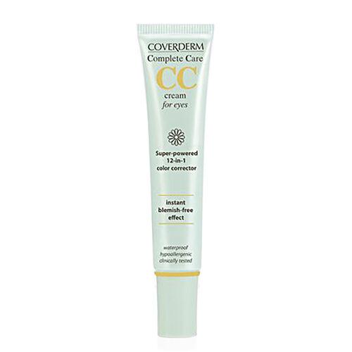 Coverderm: Complete Care CC Eye Cream (Light Beige) - 15ml