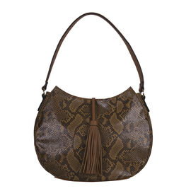 Bulaggi Collection - Quince Hobo Shoulder Bag (Size 27x35x11cm) - Camel