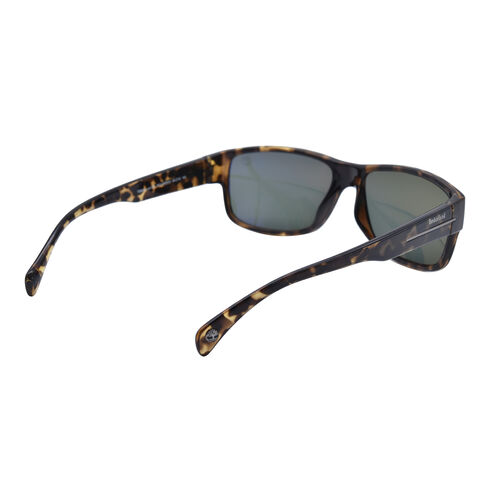 TIMBERLAND Tort Wayfarer Sunglasses with Black Lenses