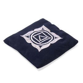 Shungite Polyster Hand Pad (Size 14x14cm) Navy Colour