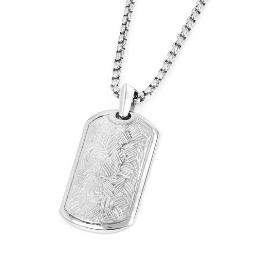 Stainless Steel Pendant With Chain (Size 24)