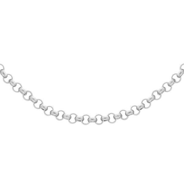 Sterling Silver Belcher Chain (Size 32), Silver wt 4.20 Gms