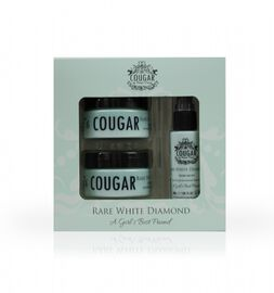 Cougar: Rare White Diamond Set (Incl. Rare White Diamond Day Cream - 50ml, Night Cream - 50ml & Facial Serum - 30ml)