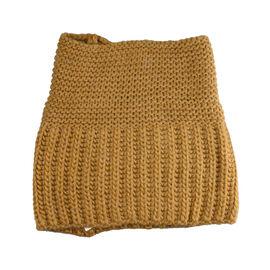 FIORUCCI Dark Mustard Knitted Neckwear  (Size 27x15cm)