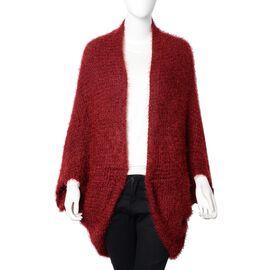 Red Colour Kimono (Size 105x50 Cm)