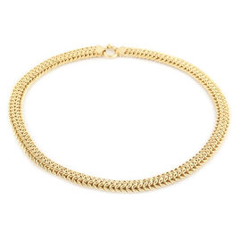 LIMITED EDITION - Italian Made - 9K Yellow Gold Collegamento Necklace (Size 20), Gold wt 37.07 Gms (