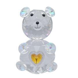 Crystal Glass Deco-Crystal Glass Deco Bear