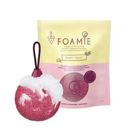 Foamie Beauty Fruity Natural Foaming Cream Cleanser and Exfoliator