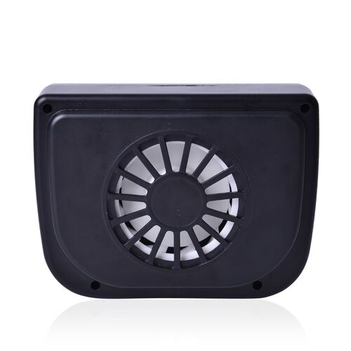 Solar Energy Based Auto Cooling Air Vent Fan for Cars (Size 14.5x10x4 Cm)