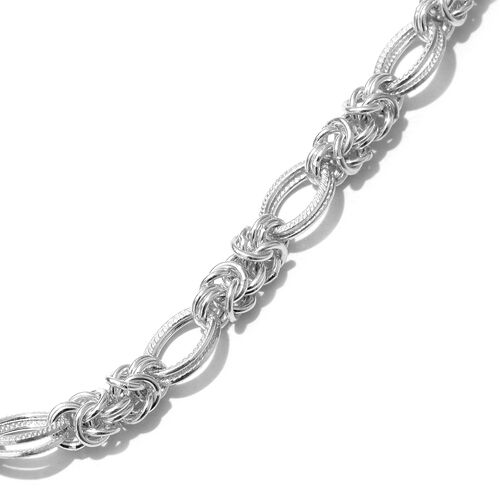 Sterling Silver Necklace (Size 20), Silver wt 50.02 Gms.