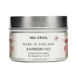 Wax Lyrical England - Raspberry Fizz Candle Tin