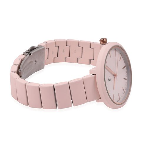 STRADA Japanese Movement Water Resistant Watch in Rose Tone