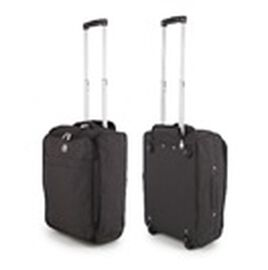 Black Cabin Bag with Extendable Arms