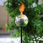 Fire Pit Stainless Steel Outdoor Garden Flame Torch (Size- Length 98 Cm,Diameter 48 Cm)
