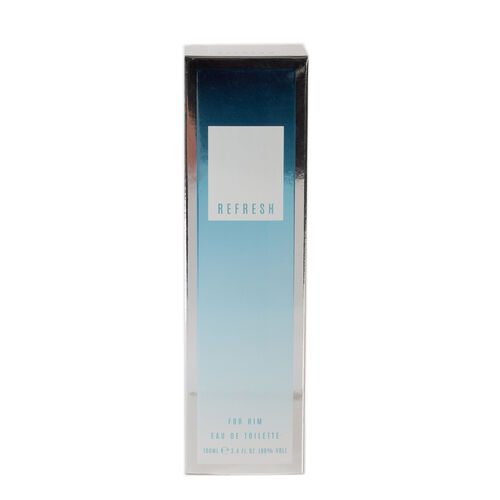 Laurelle: Refresh for Him Eau De Toilette Silver - 100ml