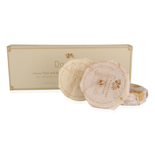 Douvalls: Organic Argan Cleansing Soap (Set of 3)
