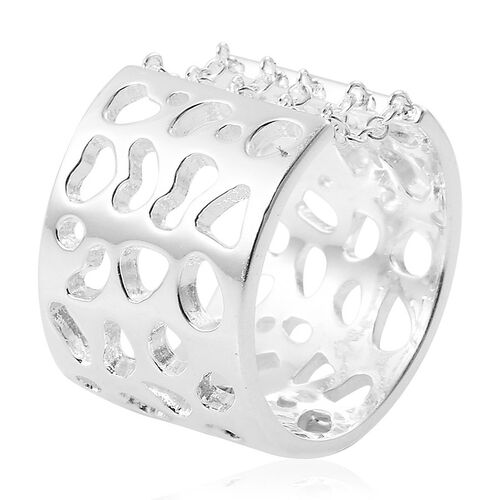 RACHEL GALLEY Sterling Silver Enkai Sun Ring, Silver wt 6.62 Gms.