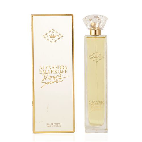 Royal Secret by Alexandra de Markoff  100ml EDP- Estimated Dispatch 3-5 working days
