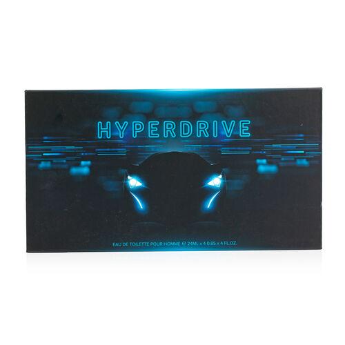 Hyper Drive: Black Car Eau De Toilette (4 Wheels) - 100ml