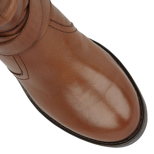 Lotus Tan Leather Iowa Ankle Boots (Size 5)