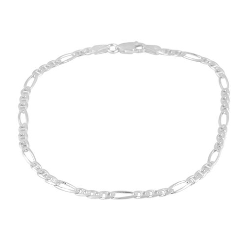 Made in Italy - Sterling Silver Bracelet (Size 8), Silver wt 3.01 Gms