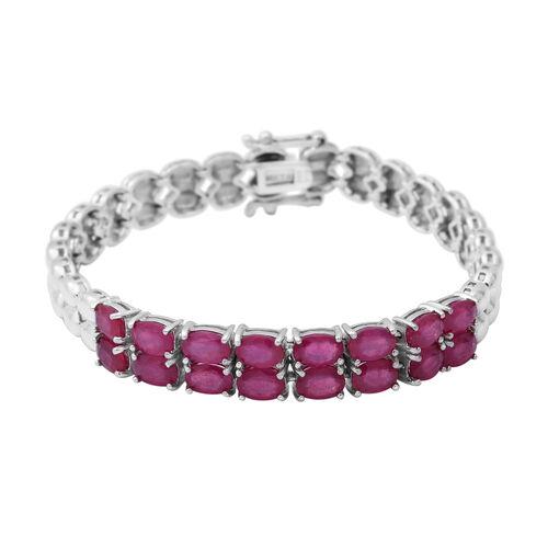 Tanzanite Tennis Bracelet Silver