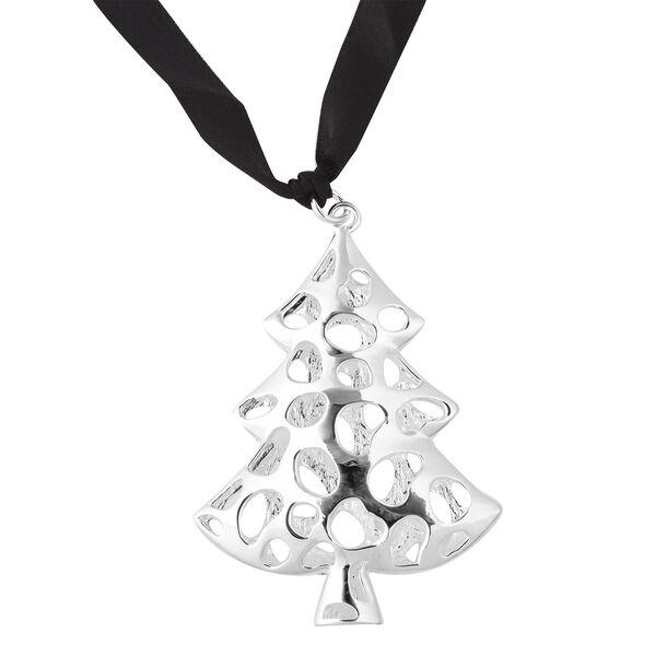 RACHEL GALLEY Tree Baubles Charm in Silver Tone