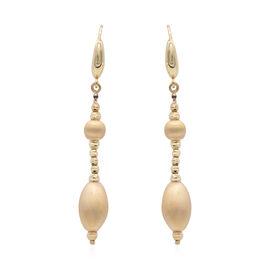 Italian Made - 9K Yellow Gold Dangle Earrings