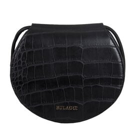 Bulaggi Collection Iris Croco Crossbody Bag - Black