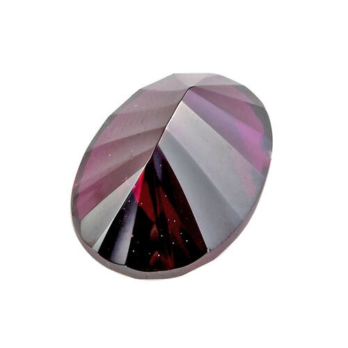 AA Rhodolite Garnet Oval 14x10 Concave 6.61 Cts