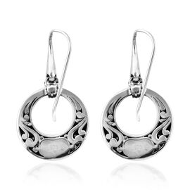 Royal Bali Collection Sterling Silver Hook Earrings 8.30 Grams