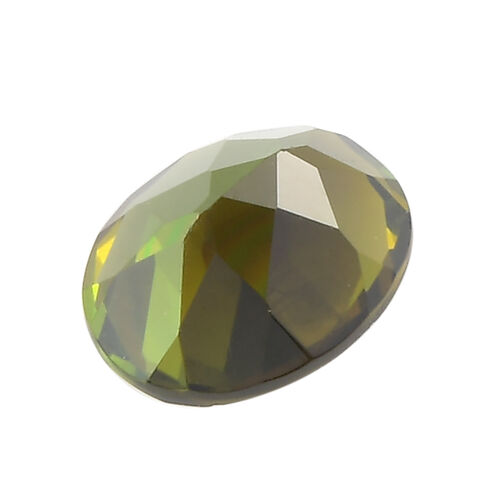 AAA Green Tourmaline Oval 9x7 Faceted 1.38 Cts