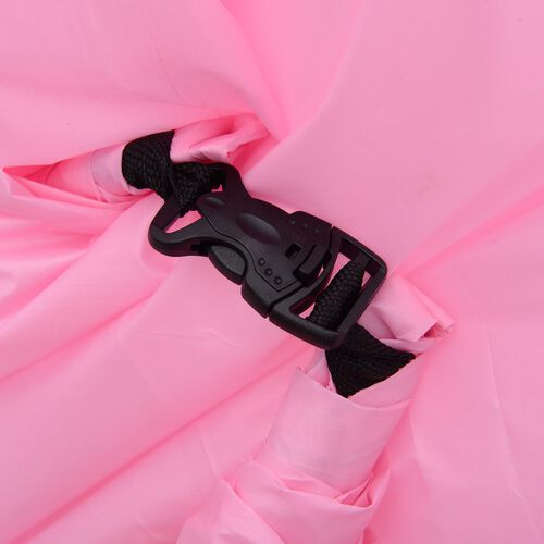 Pink Colour Self Inflating Air Lounger with Carry Pouch