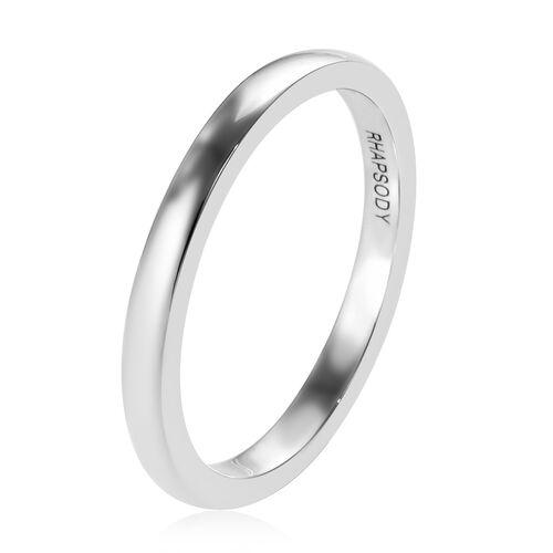 RHAPSODY 950 Platinum Band Ring, Platinum wt. 3.05 Gms.