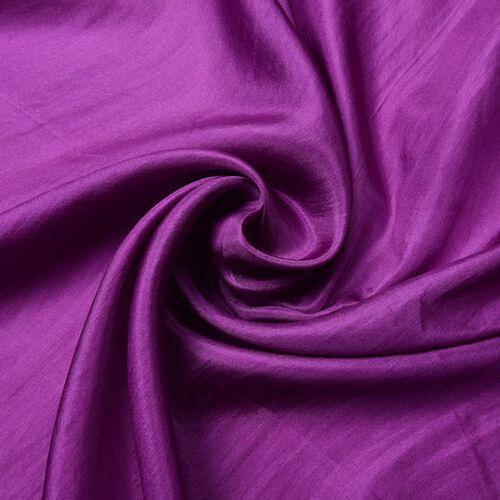 100% Mulberry Silk Pantone Colour Purple Scarf (Size 180X100 Cm)