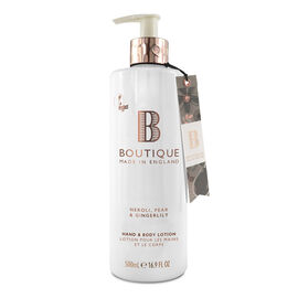 Boutique: Neroli, Pear & Gingerlily Hand & Body Lotion - 500ml