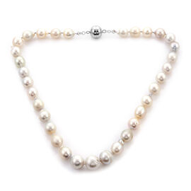 Limited Available: White South Sea Pearl Necklace (Size 20)