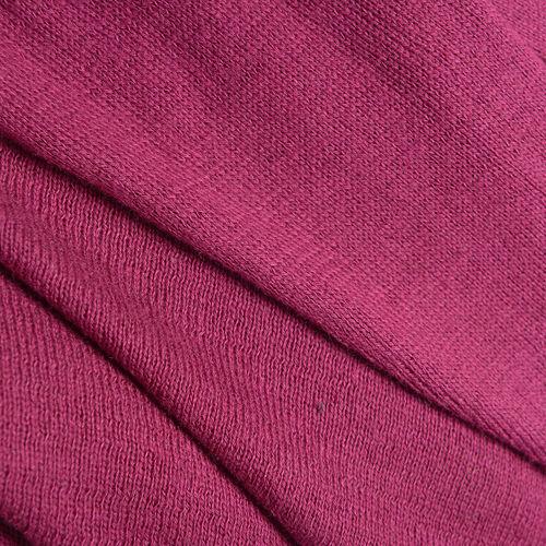 100% Cotton Cerise Colour Apparel (Size 80x45 Cm)
