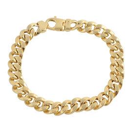 Vicenza Collection 8 Inch Bismark Bracelet 9K Gold 16.21 Grams
