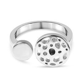 Rachel Galley Rhodium Overlay Sterling Silver Ring