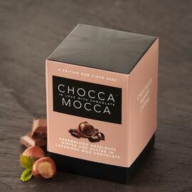 Chocca Mocca - Caramelised Hazelnuts in Milk Chocolate - 100g